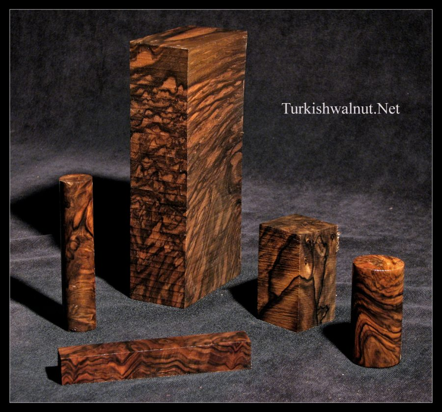 Turkish Walnut Pen Blanks Exhibition Grade Classy